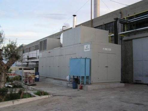 CO - GENERATION SYSTEM FOR ELECTRIC & THERMAL ENERGY PRODUCTION,YEAR 2005 For Sa