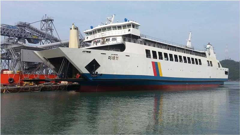 105m Double Ended Car PAX Ferry 2015 - 566 PAX - 42 Truck For Sale