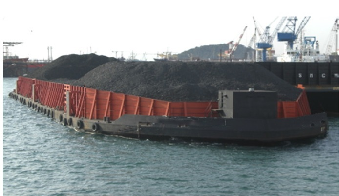 101m Flat Top Deck Barge 2008 For Sale