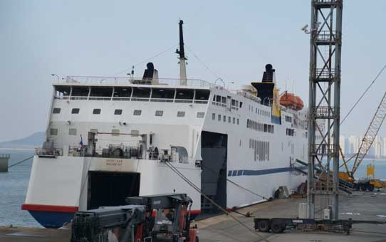 175m ROPAX Passenger and Car 1988 - 1000 PAX - DWT 4814 For Sale