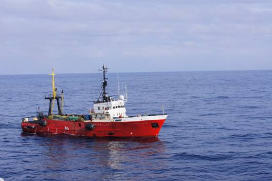 54m Fishing Trawler 1982 - Alpinist 503 Type - DWT 309 For Sale