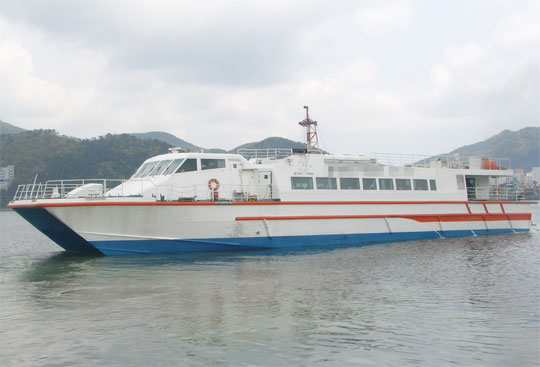 39m Catamaran High Speed Ferry - FRP - 192 PAX For Sale