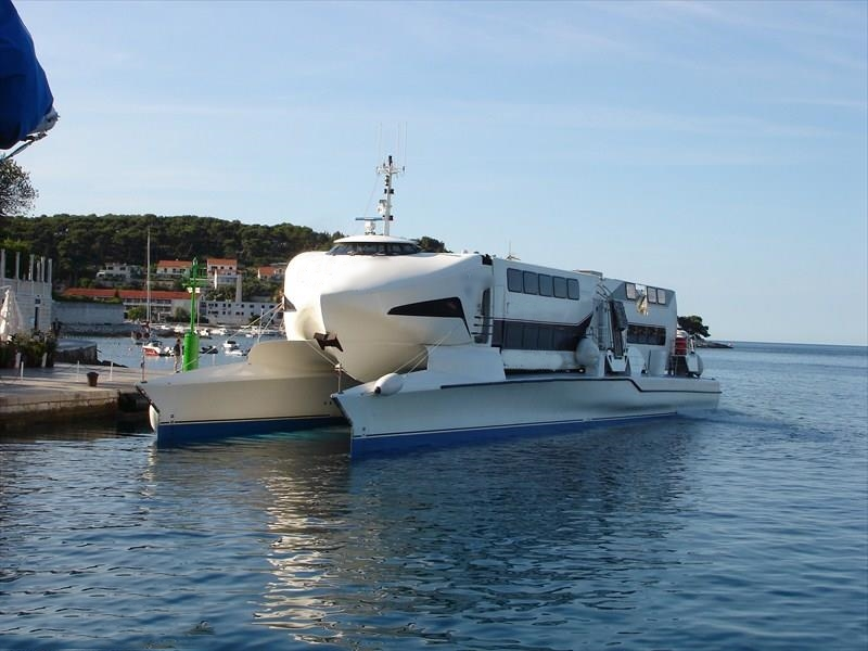 81m Double Ended ROPAX Ferry 2010 - Open Type - DWT 380 For Sale