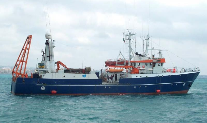 46m Research ROV Bathymetry Survey Vessel with Moon Pool For Sale