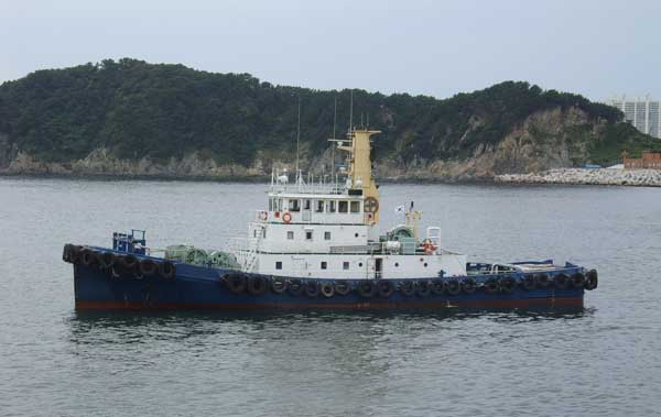 40m Harbor Tug Boat 1993 - Japan Built For Sale