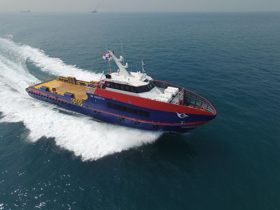 39m Fast Crew Supply Boat 2015 - 72 PAX For Sale