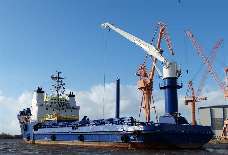 67m Offshore Supply Vessel - Multi Purpose Wind Farm Support Vessel For Sale
