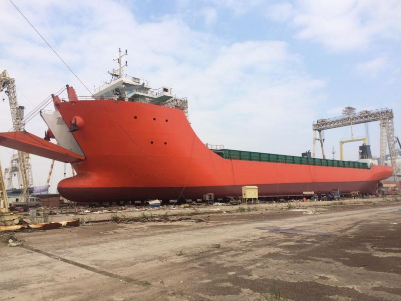 91m Self Propelled Barge Container Carrier - DWT 5083 For Sale