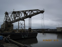 84 tons Crane Barge For Sale