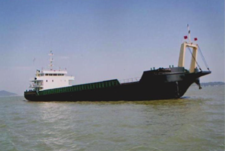 68m Self Propelled Barge LCT type - DWT 1686 For Sale