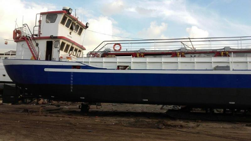 46m Self Propelled Self Unloading 300 ton Suction Hopper Dredger For Sale