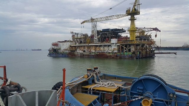 92m Drilling Rig 110 bed Accommodation Barge - DWT 9865 For Sale