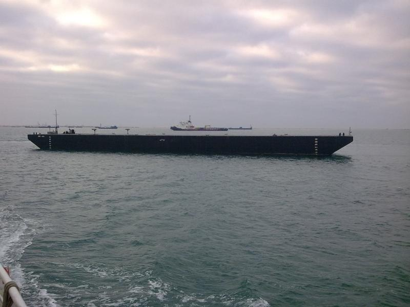 240' x 53' 14' RMRS Barge for sale
