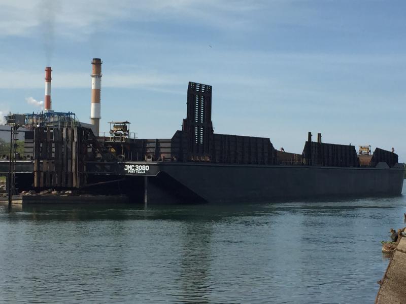 300' x 80' x 18' Bin Wall Barge Rina Class for sale
