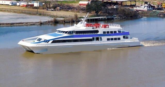 43m Aluminum Catamaran High Speed Passenger Ferry - 392 Passengers For Sale