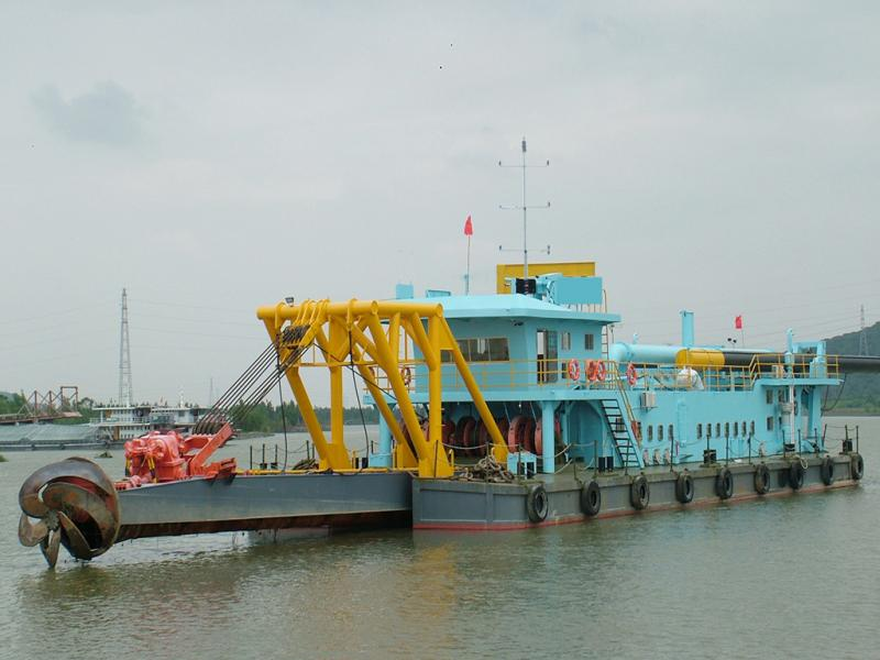 50m Self-propelled Cutter Suction Dredger - 1500 CBM per hour For Sale