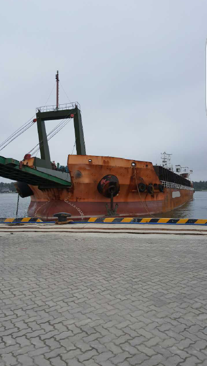 104m Self Propelled Deck Barge - DWT 9532 For Sale