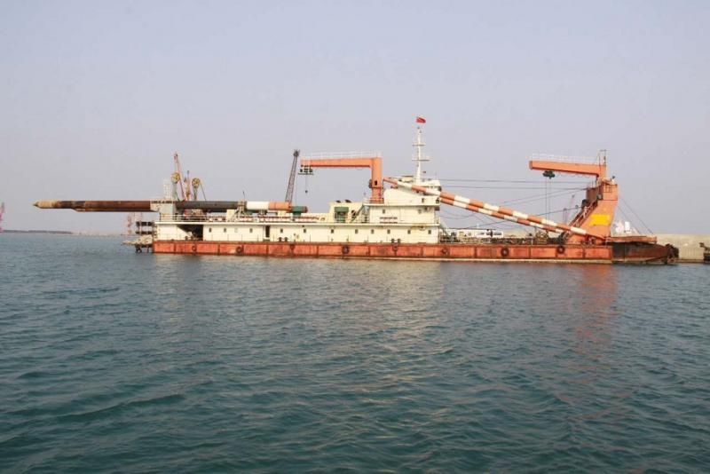 76m Self Propelled Cutter Suction Dredger - 2500 cbm For Sale