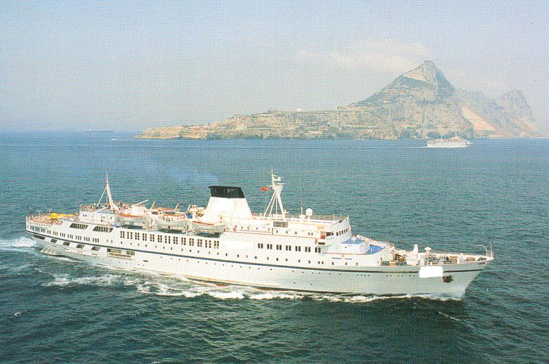 118m Passenger Cruise Ship -  340 Passengers