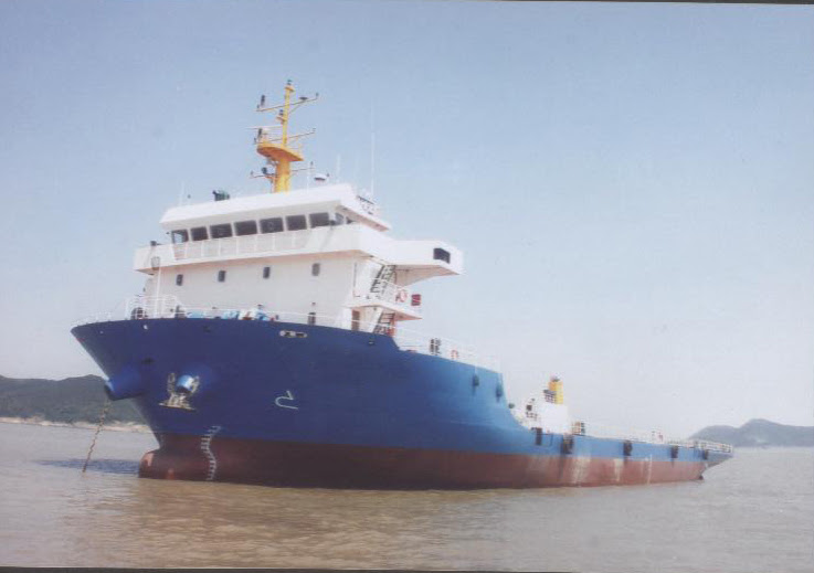89m Self Propelled Deck Barge -  DWT 4560 For Sale