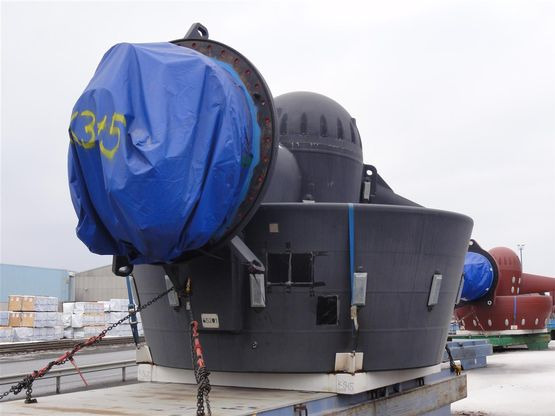 Six New Rolls Royce Azimuth Thrusters For Sale