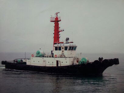 34m Azimuth Stern Drive Tug Boat 4500 hp - BP 61 For Sale