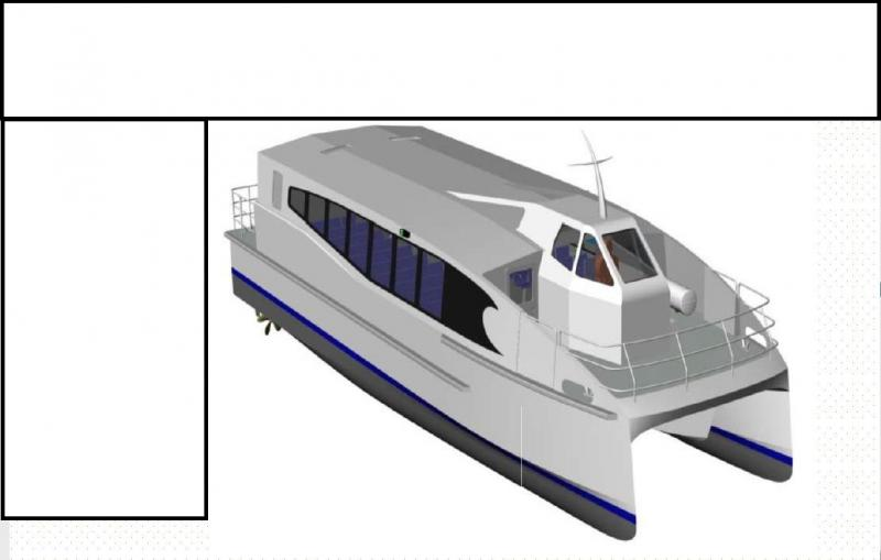 19m Low Draft River Ferrry New Built - 72 Passengers For Sale