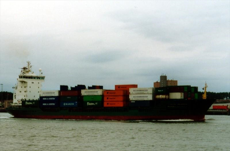 132m General Cargo Container Vessel - DWT 8081 For Sale