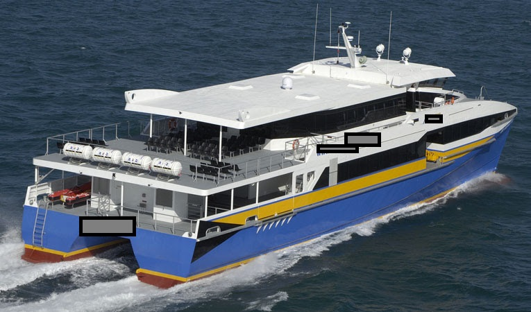 41m Catamaran Passenger Ferry - 394 Passengers For Sale