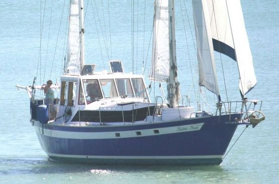 55' Center Cockpit Cruising Ketch 1980 -  Steel Hull For Sale