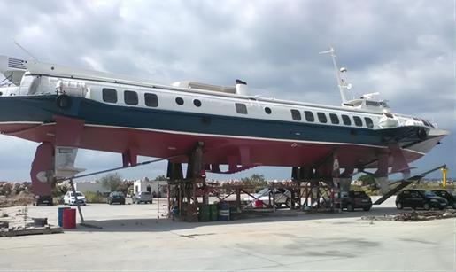 35m KOMETA Hydrofoil - 125 Passengers For Sale