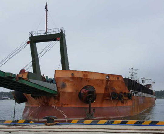 104m Self Propelled Barge 2000 - 10T per SqM Deck Loading - DWT 9560 For Sale