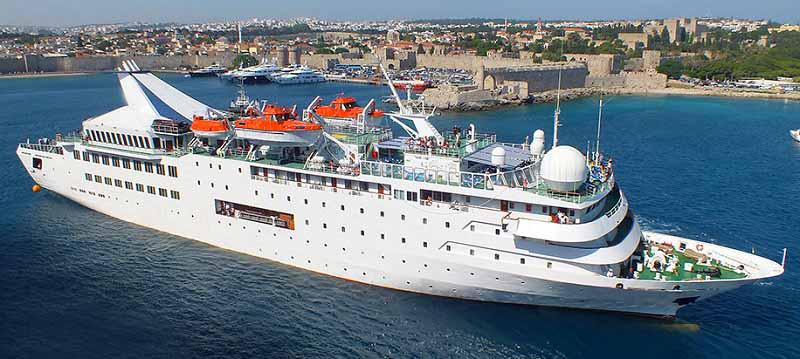 121m Boutique Cruise Ship 1989 -  Luxury Upgrades 330 PAX - DWT 1206 For Sale