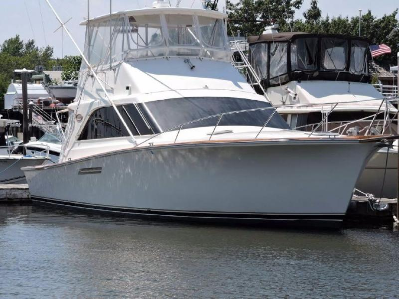44' Ocean Yachts 44 Super Sport 1989 - Cruiser -  Fisher For Sale