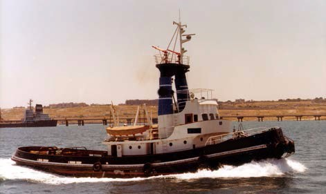 31m Tug Boat Salvage Vessel 1977 - Single Screw - Accommodates 8 For Sale