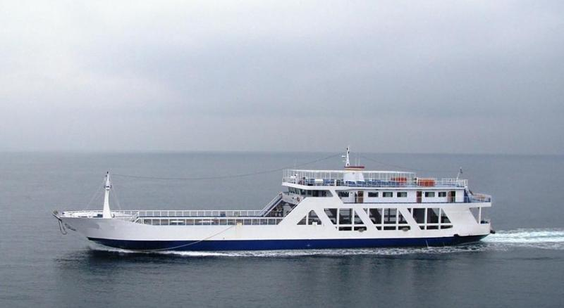 70m LCT Day ROPAX Ferry 2002 - 564 PAX 110 Cars - DWT 750 For Sale