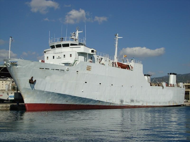 91m RORO Ship 1977 - Controllable Pitch Prop - DWT 1519 For Sale