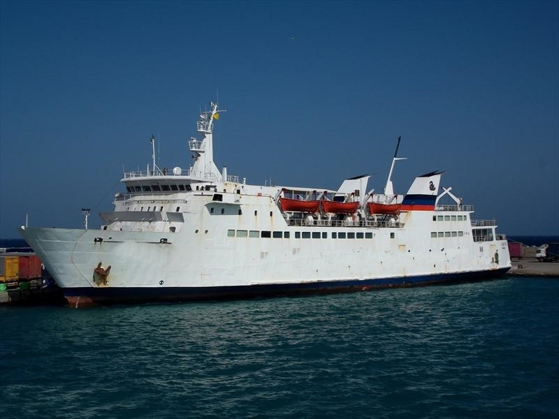 100m RORO Ship 1980 - 560 Pax 125 Cars - DWT 1126 For Sale
