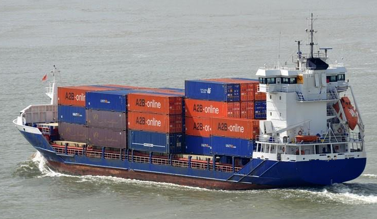 99m Gearless Container Ship - Conofeeder 340 - Available for Charter