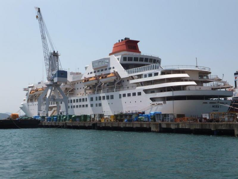 167m Cruise Ship 1989 - 603 PAX 163 Cabins - DWT 4576 For Sale