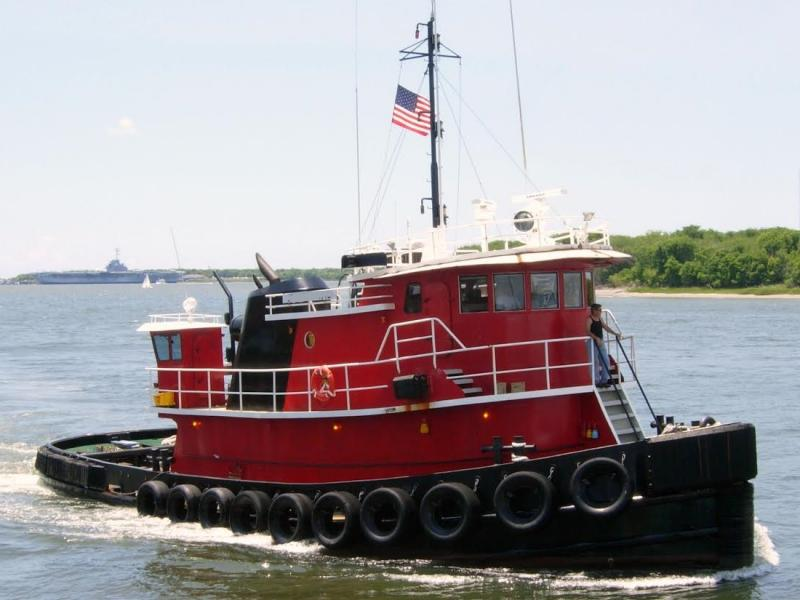 68' Model Bow Tug Boat For Sale