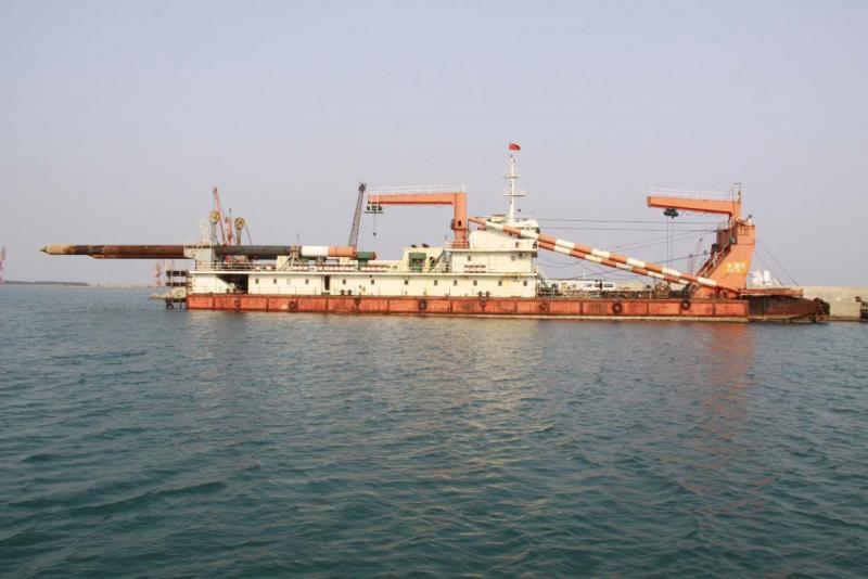 76m Cutter Suction Dredger 2009 - Self Propelled - 2500 CBM For Sale