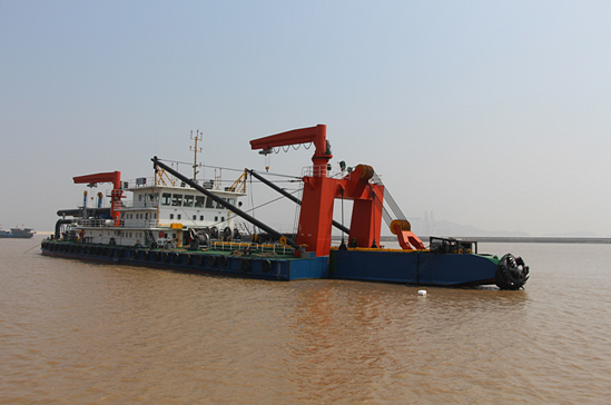63m Cutter Suction Dredger 2015 - Non Propelled - 3200 CBM For Sale