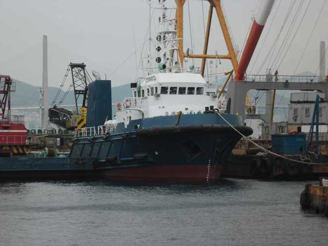 49m Ocean Going Tug Boat 1995 - Bow Thruster - Korea Built For Sale