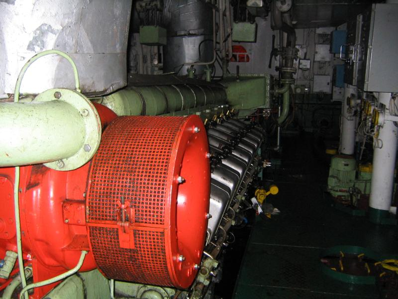 Nohab Polar Diesel Engines from AHTS 1980 Poland built For Sale