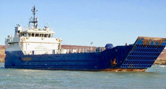 48m Landing Craft 2009 - 325m2 Clear Deck Area For Sale