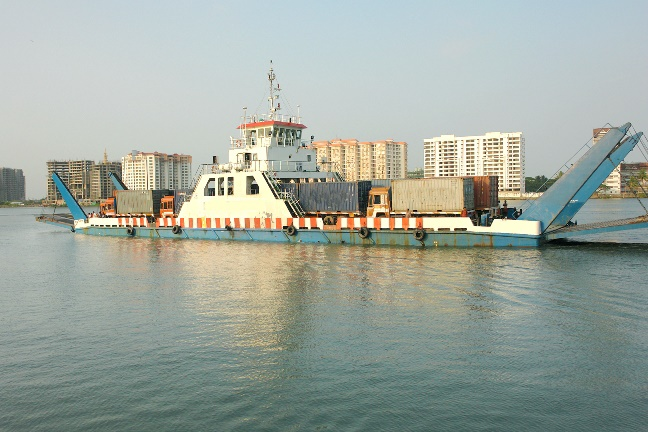 79m Double Ended Open Type RORO Cargo Vessel 1993 - DWT 381 For Sale