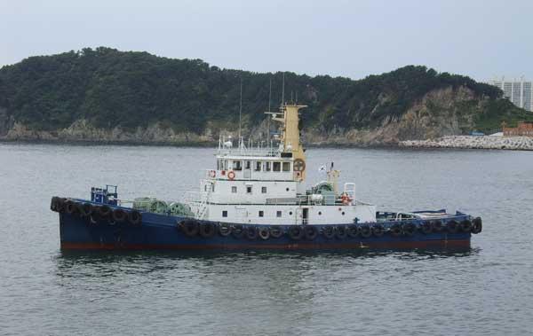 40m Harbor Tug Boat 1993 - Rex Peller 2 sets For Sale