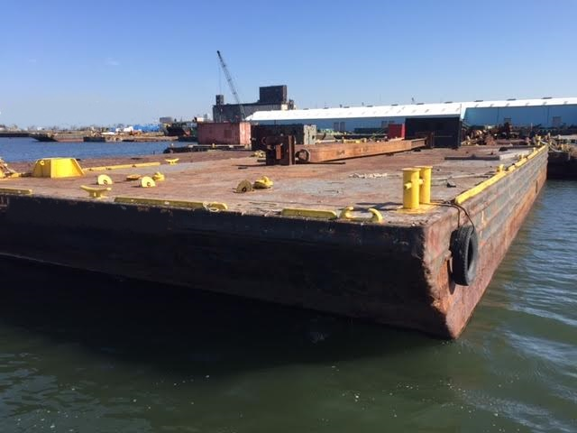 120' x 50' Deck Barge Inland with Spud Wells - Horizon Ship Brokers