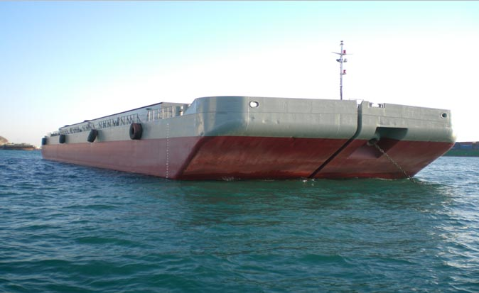 78m Split Hopper Barge 1987 - Capacity 3500 CBM For Sale